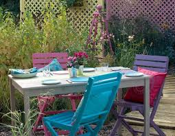 I Love These Colours I Must Get Round To Painting Our Garden