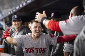 Brock Holt's hot streak continues, and it all started by borrowing Mookie  Betts' bat – The Athletic