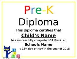 Prek Diploma Pre K Diploma By Pre K Panda Prints Teachers Pay Teachers