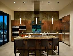 Good Kitchen, Led Pendant Lights Darkwood Cabinet And Kitchen Island Also Marble  Countertop   LED Pendant Images