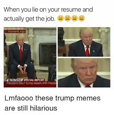 When You Lie On Your Resume And Actually Get The Job Moments Ago CBS Simple When You Lie On Your Resume