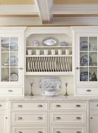 Gorgeous blue willow dishes in Kitchen Traditional with Wall Plate ...