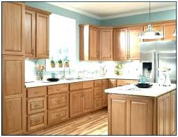 brown painted kitchen cabinets. Light Brown Paint Colors Kitchen With Wood Cabinets  Painted F