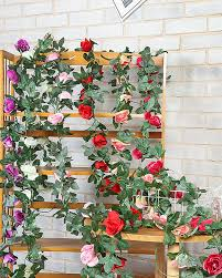 1pcs artificial rose vine 16 brick