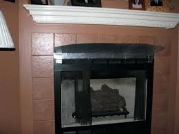 fireplace heat reflector fireplace mantel heat deflector shield fireplace heat deflector mantle