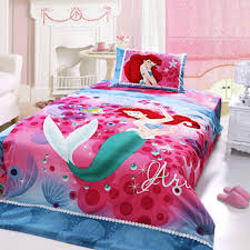 image of ariel princess bedding twin size