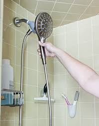 magnetic Moen shower head