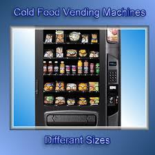 Cold Food Vending Machines For Sale Impressive VendwebCom Vending Machines New And Used Vending Machines