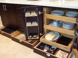 Furniture For Kitchen Storage Kitchen Enchanting Wooden Kitchen Storage Furniture With Pull Out