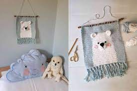 This mini crochet wall hanging pattern will be sure to adorn your home with style. Crochet Wall Hanging Patterns To Try Today
