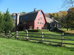 Red Barn Converted Into a House in NJ For Sale