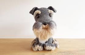 Dog Crochet Pattern Custom PROJECT 48 AMIGURUMI DOG WITH DIY FUR