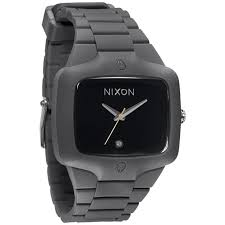 17 best images about nixon watches for men rose nixon rubber player gray black men s watch a139 195