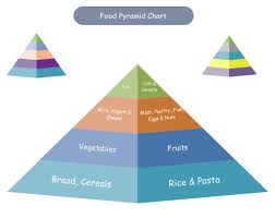 The Pyramid Food Chart Food Pyramid Chart Examples And Templates