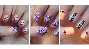 Easy Nail Art For Beginners!!! #9 - YouTube