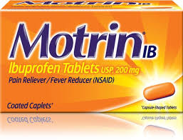 Ibuprofen 200 Mg Dosage Chart Motrin Ib Caplets