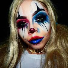 glam clown makeup picture3
