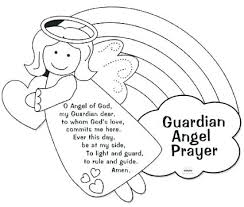 Fallen Angel Coloring Pages Page Guardian Angels Colorin Wuyedh