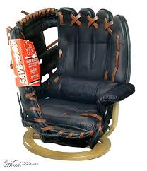 baseball desk chair a bar room baseball glove chair perfect man cave piece of furniture baseball baseball desk chair