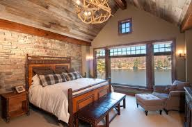 Decor Stone Wall Design Traditional Bedroom Design with Wood and Stone Wall Decor Home 46