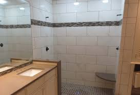 Part Tiled Bathrooms Complete Tile Shower Install Part 5 Installing The Wall Tile With