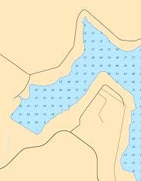 Quemahoning Reservoir Depth Chart Dcla Bathymetry Map