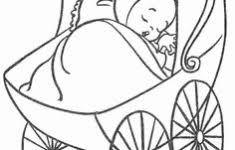 Kleurplaat Baby Geboren Uniek Geboortesticker Babyolifant Hoera Een