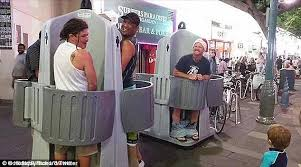 its pee back time in surfers paradise tourist hot spot to stop open air urinals have given some people a laugh but they proved unpopular in