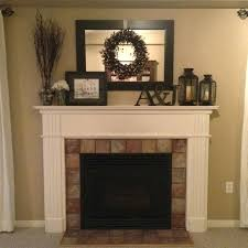 decorate fireplace hearth decorating mantel for love with pillows
