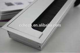 rectangular cable access computer hole cover aluminium alloy office desk cable grommet aluminium alloy grommet office desk cable grommet cable grommet