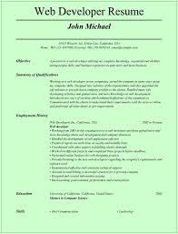 Download Web Developer Resume Haadyaooverbayresort Com
