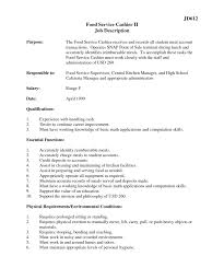 Courtesy Clerk Responsibilities Resume Professional Resume Templates