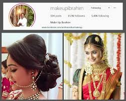 ib col min top 10 bridal makeup artists in chennai you should follow on