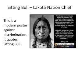 Chief Sitting Bull Warrior Quote images