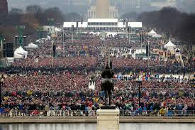 trump inauguration crowd size fox trump called national park service head to dispute crowd photos