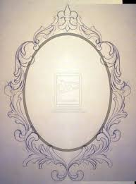 antique frame drawing. Tattoo Rose Frame Antique Designs Baroque Drawing  Google Search | Antique Frame Drawing