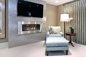 electric fireplace in master bedroom for with regard to prepare 6