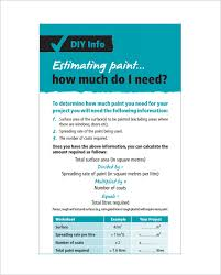 sample painting estimate template pdf