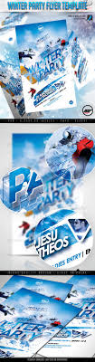 winter party flyer template by amorjesu graphicriver winter party flyer template clubs parties events