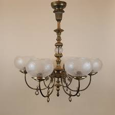 Vintage Lighting Reproduction 6 Arm Vintage Reproduction Gas Light Sold