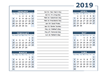 one page calender free 2019 yearly calendar download printable annual calendar templates