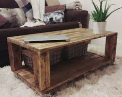 Chevron Pallet Coffee Tables  Pallet Wood ProjectsPallet Coffee Table Etsy
