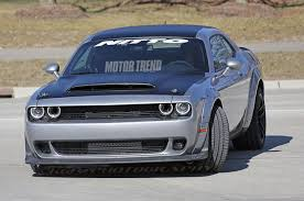 2018 dodge srt demon. wonderful demon is this the 2018 dodge challenger srt demon  motor trend intended dodge srt demon e