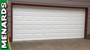 how to manually open a garage doorGarage Door  How To Install  Menards  YouTube