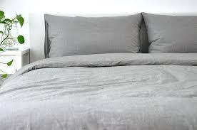linen duvet cover queen. Queen Duvet Covers Medium Grey Linen Cover . A
