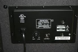 onkyo powered subwoofer. onkyo skw-540 powered subwoofer. prev subwoofer o