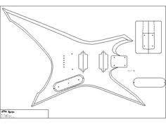07f4f2c8d82fa267ba3bddd21e4e9e7a body template woodworking jackson blueprint pesquisa google flying v pinterest on fender guitar hss wiring diagram rothstein guitars serious tone