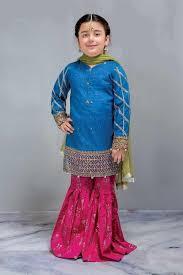 Kids Designer Royal Formal Kids Designer Dress In Blue And Red Color K806