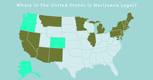 legalized states for weed