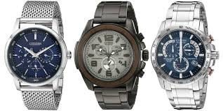 amazon gold box 40% off citizen watches eco drive stainless citizen men s bu2010 65l %22amazon exclusive%22 eco drive stainless steel mesh